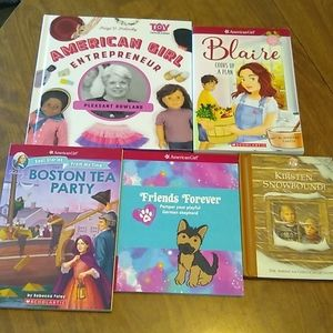 Lot of American Girl Books